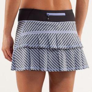 Lululemon Pace Setter Skirt - Classic Stripe - 4